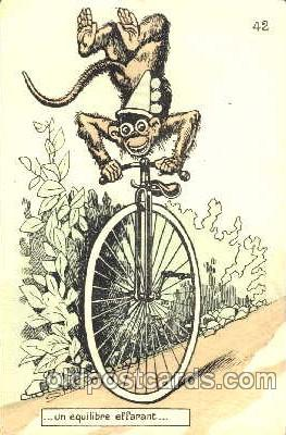 cir006031 - Monkey on Uni-cycle