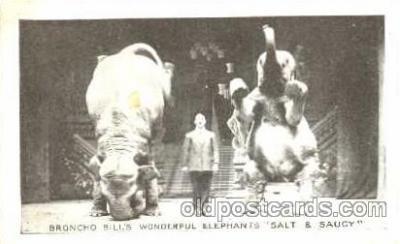 cir006062 - Broncho Bills Wonderful Elephants