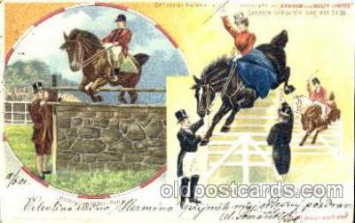 cir006065 - Barnum & Bailey Horse jumping postcard Post Card