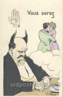 cir006094 - Circus Postcard Post Card Artist E. Lefant