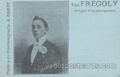 cir006131 - Circus Postcard Post Card The Fregoly, Artiste Transformateur