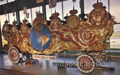 cir006193 - Circus Hall of Fame Circus Postcard Post Card