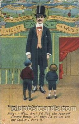 The Tallest man in the World
