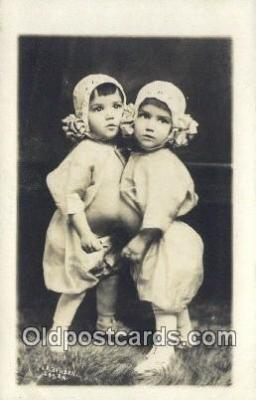 The Cuban Twins Bron Havana, Cuba Nov 15th 1912