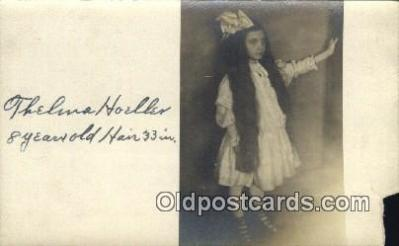 Thelma Hoeller 8 years old 33 in Hair