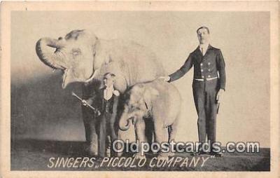 Singers, Piccolo Company