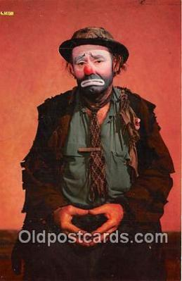 Emmett Kellly, Weary Willie, Clown