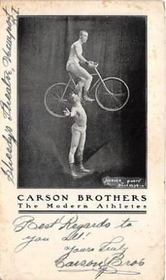 Carson Brothers The Modern Athletes