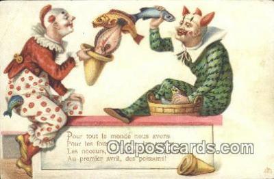cir007081 - Circus Postcard Post Card Old Vintage Antique