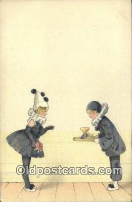 cir007085 - Circus Postcard Post Card Old Vintage Antique