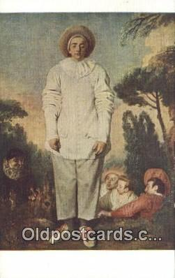 cir007096 - Artist A Watteau  Postcard Post Card, Carte Postale, Cartolina Postale, Tarjets Postal,  Old Vintage Antique