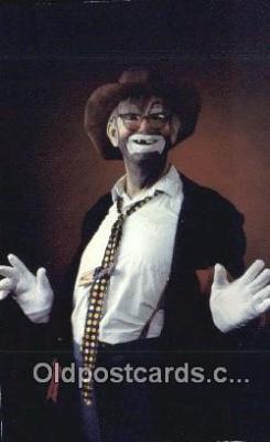 cir007105 - Bumblefoot The Tramp Clown Safety Harbor Florida, USA Postcard Post Card, Carte Postale, Cartolina Postale, Tarjets Postal,  Old Vintage Antique