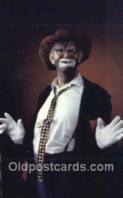 cir007106 - Bumblefoot The Tramp Clown Safety Harbor Florida, USA Postcard Post Card, Carte Postale, Cartolina Postale, Tarjets Postal,  Old Vintage Antique