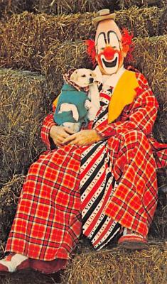 cir007239 - Master of Mirth, Lou Jacobs Greatest Show on Earth, Circus Clown Post Card