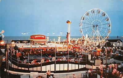 cir007281 - Playland Pier, Longport, New Jersey, USA Publisher Circus Post Card