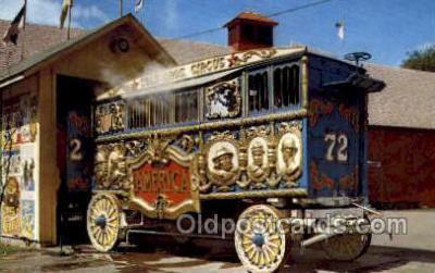 cir050003 - Baraboo Wisconsin, USA Circus World Museum Old Vintage Antique Post Card Postcard