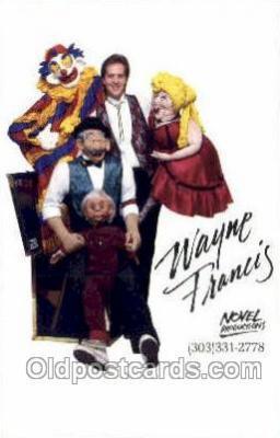 cir050025 - Wayne Francis Denver, Colorado, USA Novel Productions