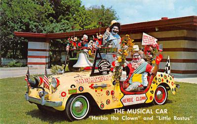 cir100751 - Circus Clowns Acts Old Vintage Post Cards