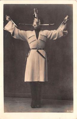 cir100821 - Circus Acts Post Cards