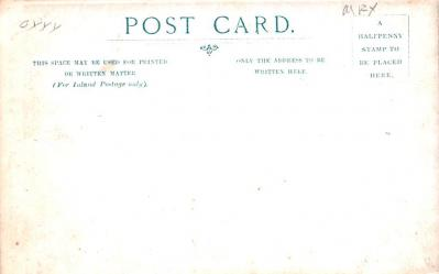 cir100829 - Circus Acts Post Cards  back