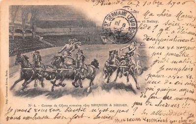 cir101021 - Circus Acts Post Cards
