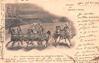 cir101025 - Circus Acts Post Cards