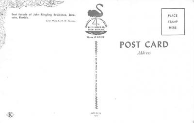 cir101047 - Circus Acts Post Cards  back