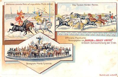 cir101061 - Circus Acts Post Cards