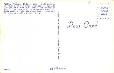 cir101173 - Circus Post Cards  back