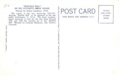 cir101185 - Circus Post Cards  back