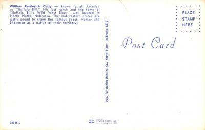 cir101213 - Circus Post Cards  back