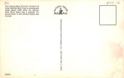 cir101241 - Circus Post Cards  back