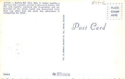 cir101247 - Circus Post Cards  back
