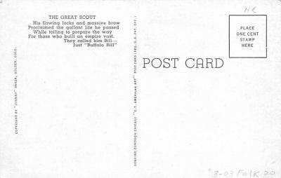 cir101251 - Circus Post Cards  back