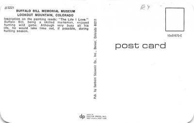 cir101257 - Circus Post Cards  back