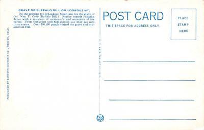cir101265 - Circus Post Cards  back