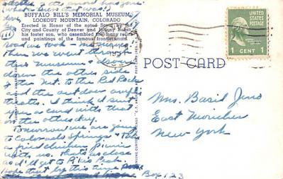 cir101271 - Circus Post Cards  back