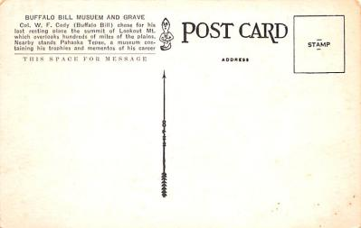 cir101273 - Circus Post Cards  back
