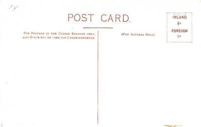 cir101299 - Circus Post Cards  back
