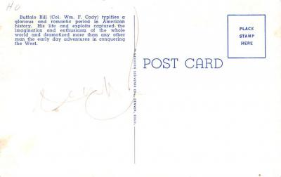 cir101303 - Circus Post Cards  back