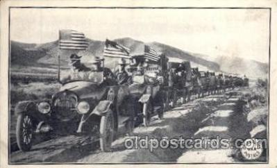 Truck train in Mexico