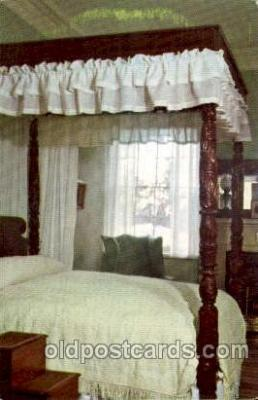 civ001117 - General Lee's bedroom. Military, War, Postcard Post Card