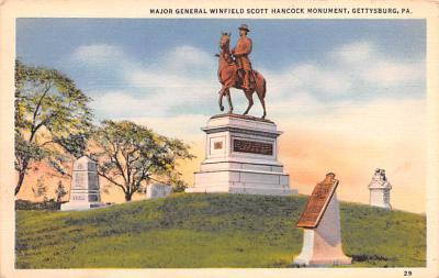 civ002143 - Civil War Post Card Old Vintage Antique Postcard