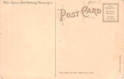 cog002131 - State Girl Post Card  back