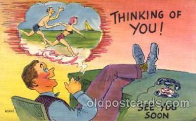 com001024 - Comic, Comedy, Comical Postcard Post Card