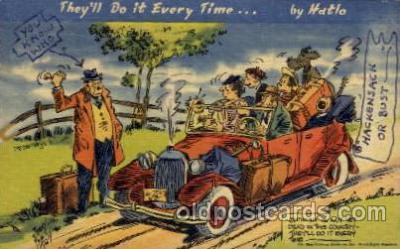 com001419 - Comic Postcard Comical Post Card Old Vintage Antique Carte, Postal Postal