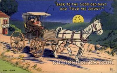 com001439 - Comic Postcard Comical Post Card Old Vintage Antique Carte, Postal Postal