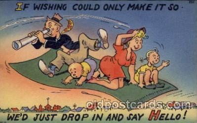com001554 - Comic Postcard Post Card