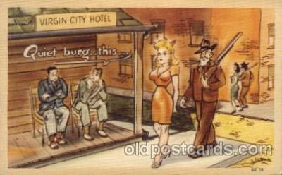 com001594 - Comic Postcard Post Card
