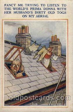 com100014 - Comic Postcard Post Card